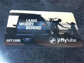 JIFFY LUBE Gift Cards GIFT CARD